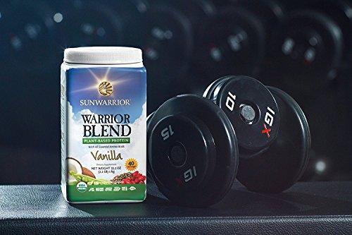 SunWarrior Warrior Blend Raw Protein Vanilla -, 1kg