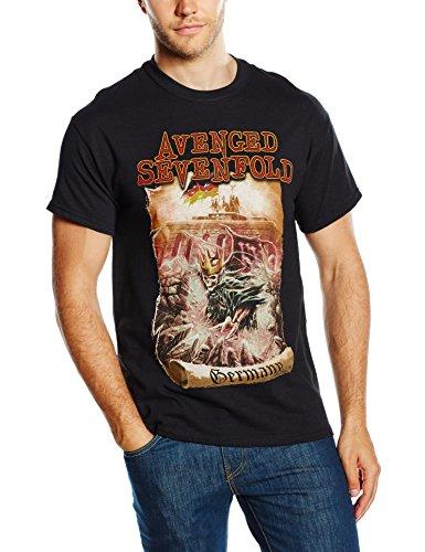Avenged Sevenfold Herren T-Shirt Germany Schwarz - Schwarz