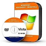 Windows Vista Home Premium 32 Bit Recovery Repair Restore DVD DISC DISK CD
