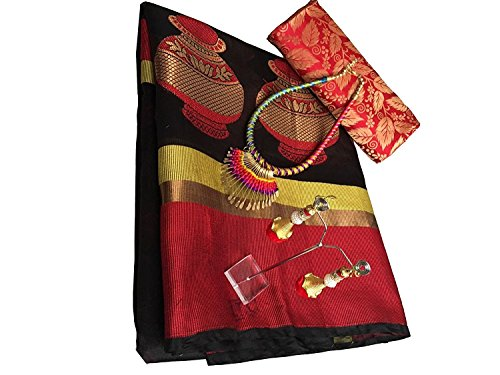 Sarees for Wedding / Party / Festival / Traditional Beautiful Cotton Designer...