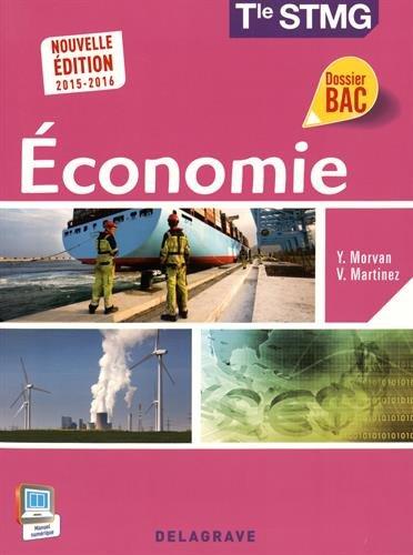 Economie Tle STMG élève 2015