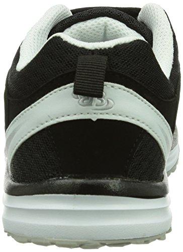 Bruetting  Performance V, Chaussures spécial sports en salle pour garçon Noir (Schwarz/weiss)