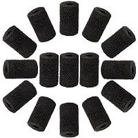 WXJ13 15 Paquetes de Limpiador de Piscina Manguera Cola Barrido Manguera Limpiador para Barrido Piscina, Negro