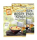 Pristine Beginnings Organic Cereal Flakes - Corn, 300g (Pack of 2)
