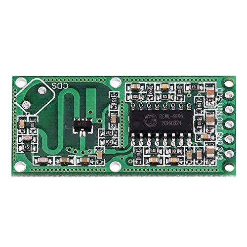 ZSYUN RCWL-0516 Mikrowellenofen Radarsensor intelligente Schaltermodul menschliche Körper Abfühlmodul intelligenter Sensor-Detektor 5 bis 7 M Erfassungsabstand 4-28 V 100 mA Spot Steuermodul