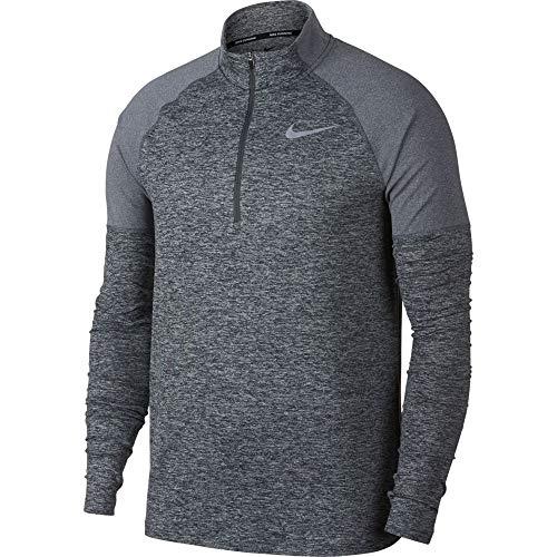 wholesale dealer 786a8 1ad84 Nike M NK ELMNT Top HZ 2.0 T-Shirt à Manches Longues Homme, Dark