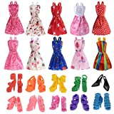 iDream Doll Accessories,Multi Color (10 Pieces)
