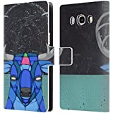 Official Ric Stultz Starbuck Animals 3 Leather Book Wallet Case Cover For Samsung Galaxy J5 (2016)
