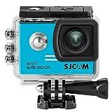 16GB TF Card +SJCAM SJ5000X Elite Sports Action Camera, HD 2.0 Pulgadas LTPS WiFi 4K 2.0 LCD NTK96660 Buceo 30m Impermeable Sports Action CAM DV(Blue)