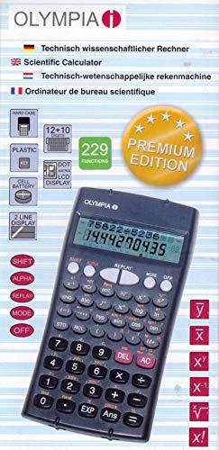 Taschenrechner OLYMPIA LCD-8110, Premium Edition