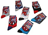 Jungen Kinder 6Paar Spider-Man Spiderman Marvel Socken Mehrfarbig Mixed
