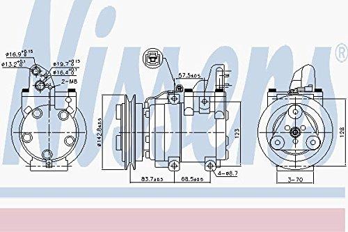 Nissens 890059Compressore per aria condizionata