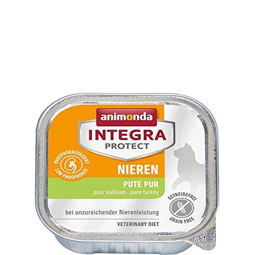 animonda Integra Protect Nieren mit Pute | Diät Katzenfutter | Nassfutter bei chronischer Niereninsuffizienz (16 x 100 g)