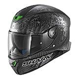 Shark Motorradhelm Hark Skwal 2 Switch Rider 2 Mat, Schwarz, Größe XS