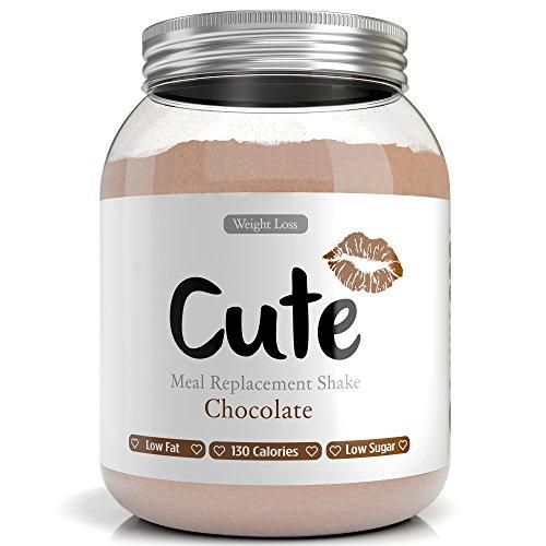 Milk-Shake / Smoothie Chocolat pour maigrir tout en restant en forme - Substitut de repas diététique sous forme de boisson en poudre hyperprotéinée basses calories - Guide pour perdre du poids offert