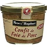Avon & Ragobert Confit de Foie de Porc 180 g - Lot de 4