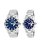 Fogg Analog Blue Dial Couple Watch