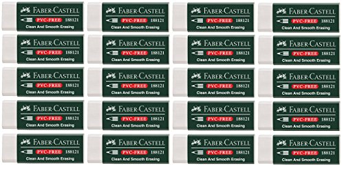 Faber-Castell Radierer (20 Radierer)