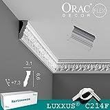 Orac Decor C214F Eckleisten flexibel 1 Karton SET 20 Stuckleisten | 40m
