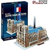 CubicFun Notre Dame of Paris France 3D Puzzle