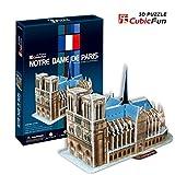 Puzzle 3D CubicFun Série C - 'Cathédrale Notre-Dame de Paris - Paris'