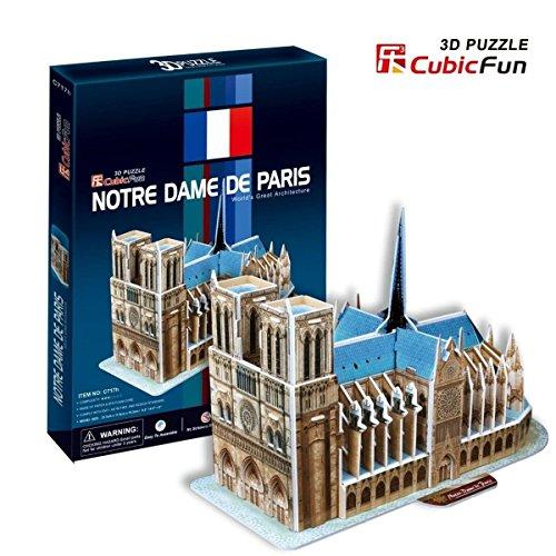 3D Puzzle - Notre-Dame in Paris (Schwierigkeit : 4/8)