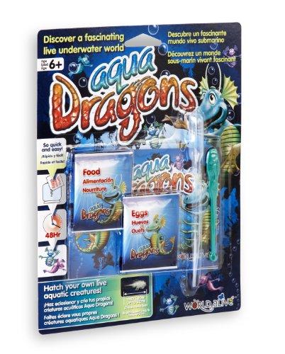 World Alive SL- Aqua Dragons Kit di Ricambio 'Mondo Sottomarino' Fai dischiudere Le tue Creature acquatiche Vive, Multicolore, 4004