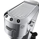 De'Longhi Dedica Style EC685M Traditional Pump Espresso Machine - Silver