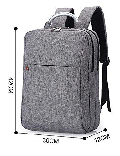 Z&HXComputer Rucksack Laptoptaschen Laptop-Tasche und weise beil?ufige wasserdichte Multifunktions Grey