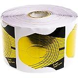 Guias moldes (Exact Nail Form) 100 Unidades - moldes para uñas - uñas de gel, acrílico - color dorado - Blucc Style
