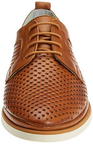 Pikolinos Santorini W7g, Derby Chaussures À Lacets Femme Marron (brandy)