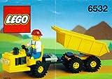 LEGO System Fahrzeuge 6532 Straßenbautraktor