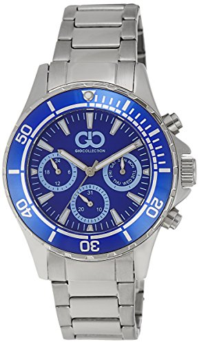 Gio Collection Analog Blue Dial Men's Watch - GAD0041-A