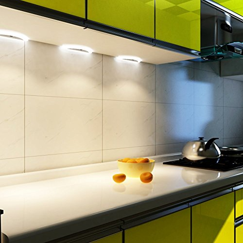 LED Küchenleuchte Sensor SET Unterbauleuchte Küchenlampe Unterbaustrahler, Auswahl:4er Set neutralweiss