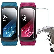 Malloom 5pc HD película inteligente LCD pantalla protector para Samsung Gear Fit 2 SM-R360