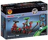 fischertechnik Dynamic XM Kugelbahn mit Katapult und verstellbarem Trampolin - 3 actionreiche Modelle - für Kinder ab 8 Jahren