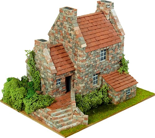 DOMUS Kits Domus kits40043Maßstab 1: 50'Country 3-Haus Modell (2250-piece)