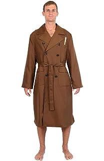 10th Doctor Who Dr. Ten Brown Long Coat