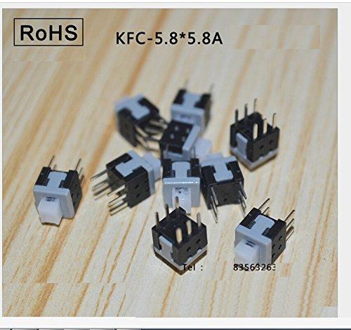 100pcs-6-pins-30v-01a-self-locking-small-push-button-switch-pressure-switch-latching-switch-kfc-58-x