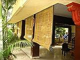 #9: TCLPVC Economy Bamboo Blind Chick Window CloserCurtain (4 Sizes) Natutal Range (W5/H7)
