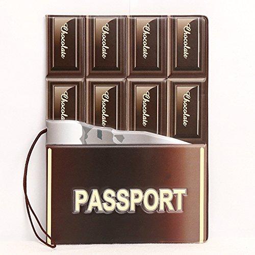 Ducomi® Funny travel- Unisex Reisepasshülle mit Aufdruck Superhelden–für Ihren Reisepass –Abmessungen: 14x 10x 0,4cm, mehrfarbig