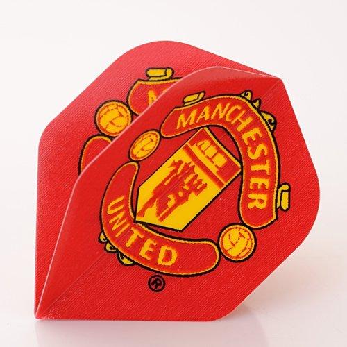 3 x MANCHESTER UNITED FUSSBALL CLUB DARTS FLIGHTS (1 Set) (Dart Flights Manchester United)