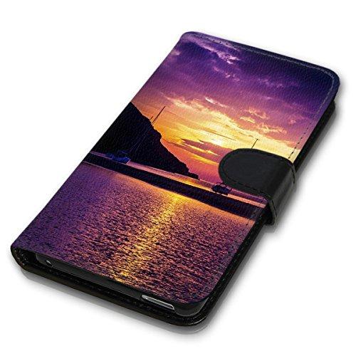 Wallet Book Style Flip Handy Tasche Case Schutz Hülle Schale Motiv Etui für Apple iPhone 6 / 6S - Variante UMV27 Design8 Design 12