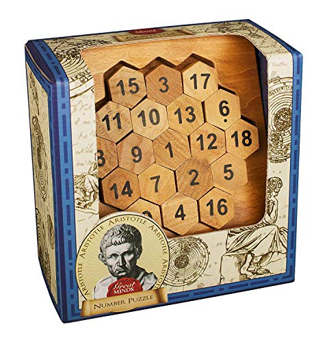 Price comparison product image Professor Puzzle Great Minds Aristotle's Number Puzzle
