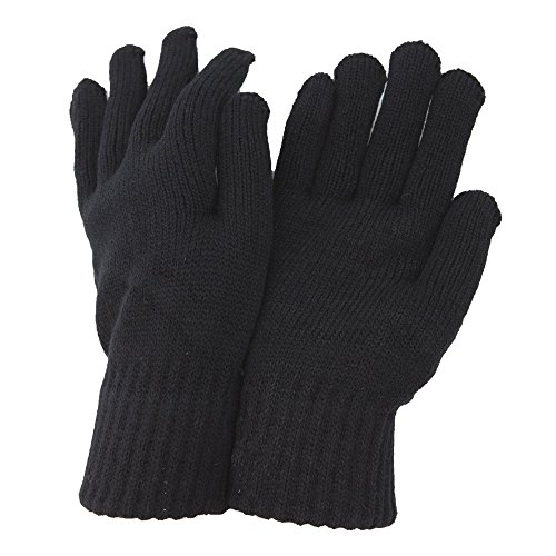 clearance-mens-thermal-knitted-winter-gloves-one-size-black