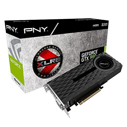 PNY KF960GTX4GEPB NVIDIA GeForce GTX 960 OC Scheda Grafica, 4