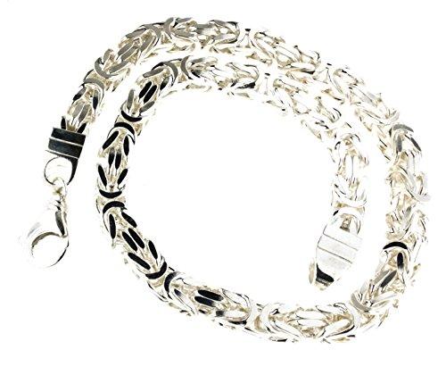 Königskette 925 Silber 11 mm 80 cm Silberkette Halskette Damen Herren Anhängerkette Schmuck ab Fabrik tendenze Italy D-BZ11-80v