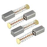 Sourcingmap Balais de charbon pour moteurs électriques 11mm x 5mm x 5mm de remplacement de réparation supplémentaire Lot de 4