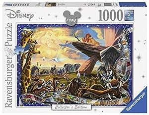 Ravensburger - Puzzles 1000 piezas, Disney Classic, El Rey León (19747)