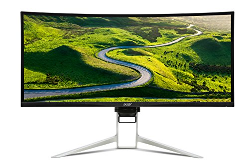 "Acer XR342CK 34"" Curved QHD (3440 x 1440) Monitor HDR Ready with Adaptive Sync Support (Display, USB HUB, HDMI & MHL Ports)"